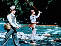 Там, где течёт река