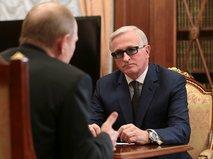 Встреча Владимира Путина с главой РСПП Александром Шохиным