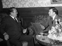 Иосиф Броз Тито и Кирилл Мазуров