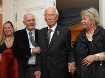 Никита и Сергей Михалковы с супругами