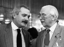 Никита и Сергей Михалковы