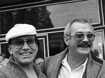 Андрон Кончаловский и Никита Михалков