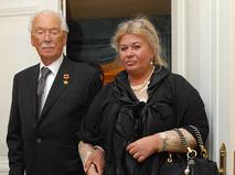 Сергей Михалков с супругой