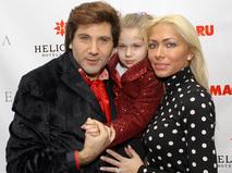 Авраам Руссо с супругой Морелой и дочерью Эмануэллой