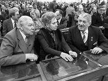 Николай Крючков на IV-м съезде киниматографистов СССР