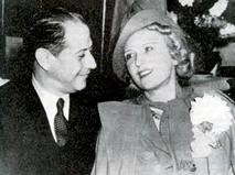 Хосе Рауль Капабланка с супругой Ольгой Чегодаевой