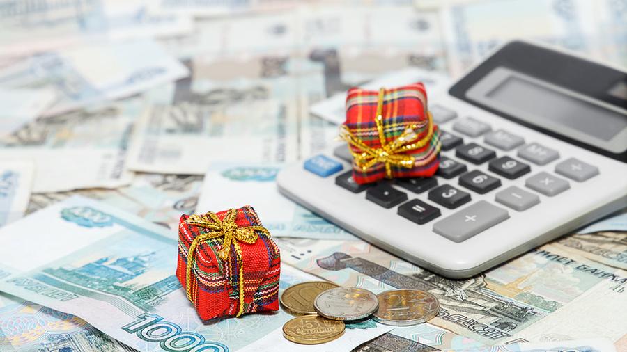 Налог на прибыль новогодние подарки 30