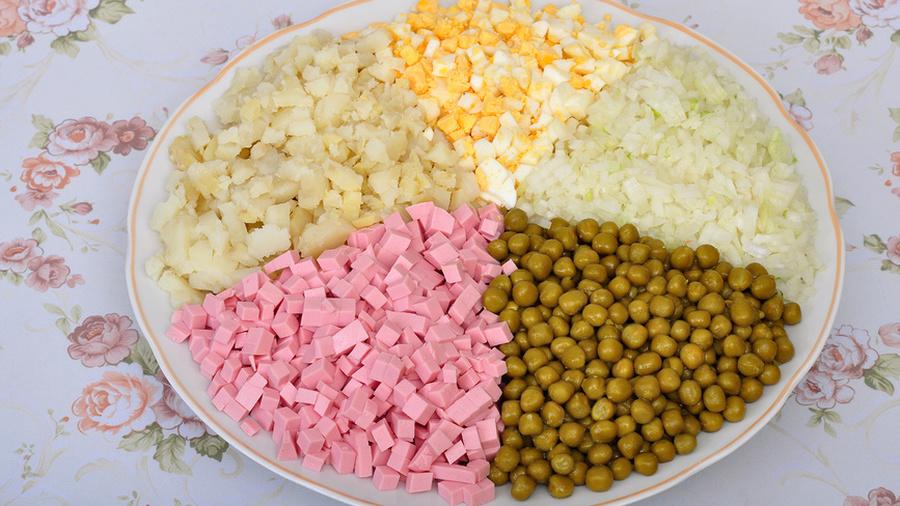 Салат оливье ингредиенты