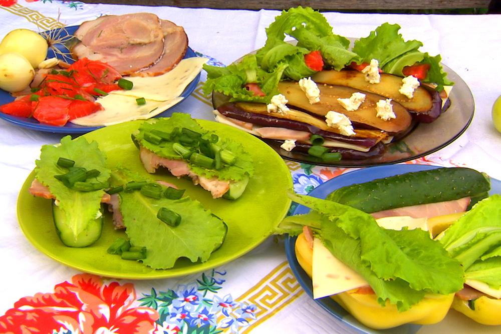Бутерброды диетические без хлеба рецепты