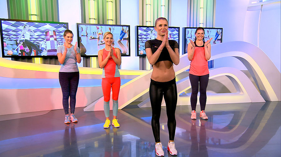 зумба обалденная фитнес программа для похудения