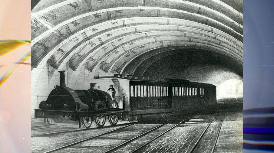 Картинки по запросу 1863 - В Лондоне открылась первая в мире линия метро.