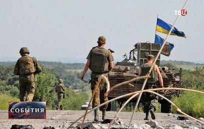 киев возобновил обстрелы луганска