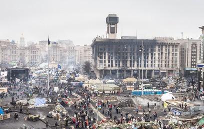 Майдан Незалежности. 2014 год