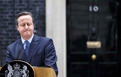 дэвид кэмерон отставку референдума британии