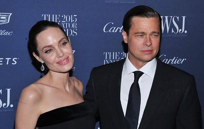 анджелина джоли официально подала развод брэдом питтом