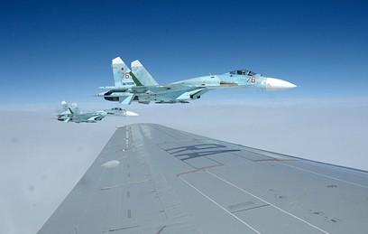 Истребители Су-27 ВКС России