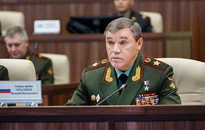 Начальник Генштаба Вооруженных сил России Валерий Герасимов