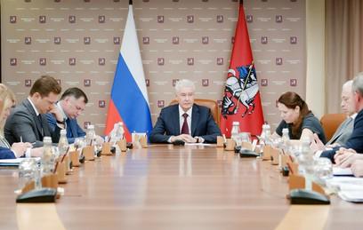 Собянин подвел итоги работы Стройкомплекса Москвы в уходящем году