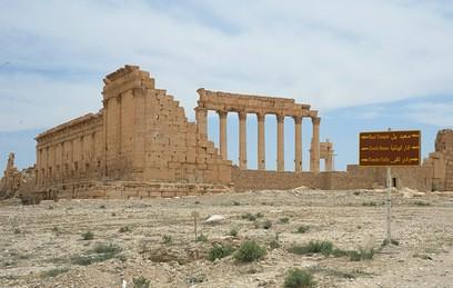 Храм Бэла в исторической части Пальмиры