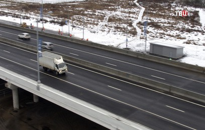 Участок Калужского шоссе