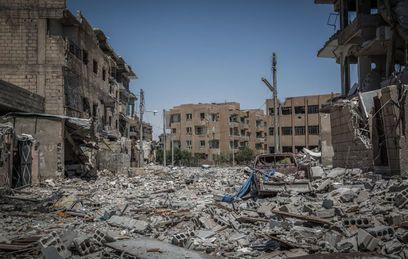 Руины Ракки