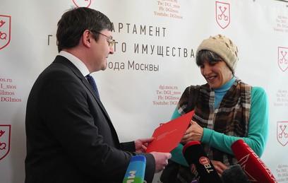 Зарегистрирован первый собственник квартиры в рамках реновации в Москве