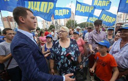 Кандидаты в мэры Москвы продолжают агитационные встречи с избирателями