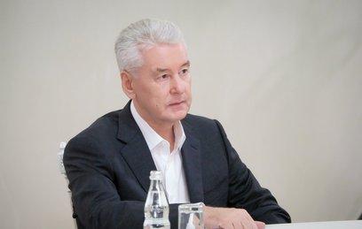 Собянин обсудил дальнейшее развитие города со всеми кандидатами в мэры