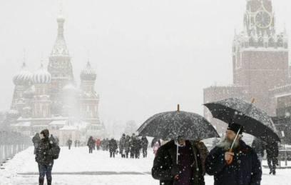 москву сильный снегопад