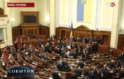 Украинская рада реабилитировала политзаключенных
