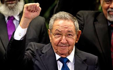 Председатель Государственного совета и совета министров Республики Куба Рауль Кастро