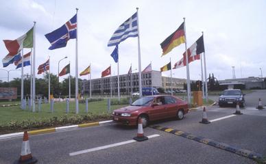 Здание штаб-квартиры НАТО, Брюссель.