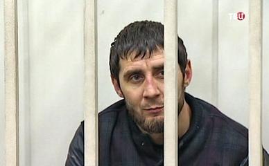Задержанный по делу об убийстве политика Бориса Немцова Заур Дадаев в суду