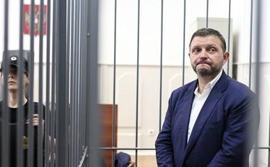 Никита Белых в суде