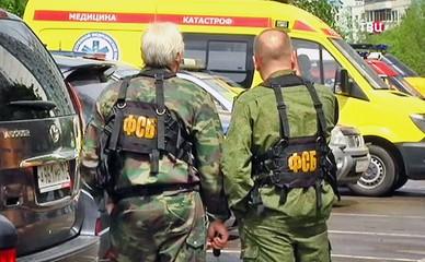 Специалисты ФСБ на месте происшествия