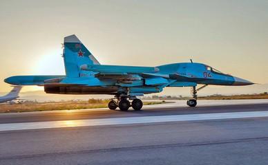 Истребитель Су-34 ВКС России