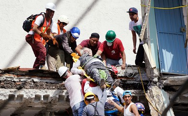 Землетрясение в Мексике