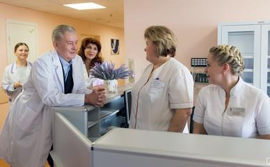 Открытие после капитального ремонта роддома городской клинической больницы № 40