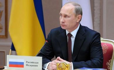 Владимир Путин на саммите СНГ