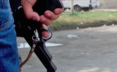 Пистолет в руке