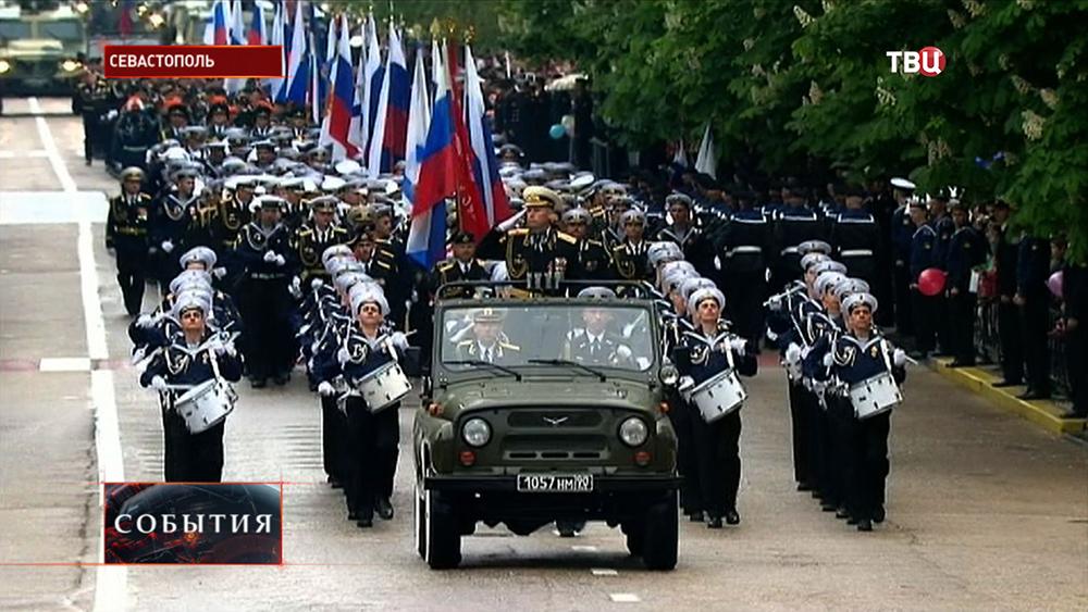 Парад по случаю Дня Победы в Севастополе