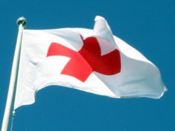 """Флаг организации """"Красный крест"""""""