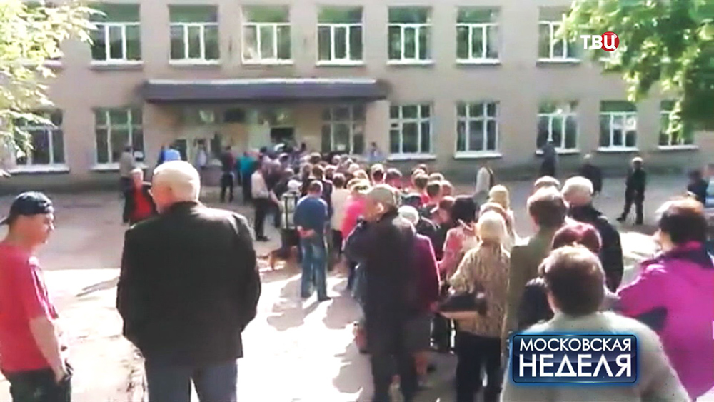Жители юго-востока Украины пришли на референдум