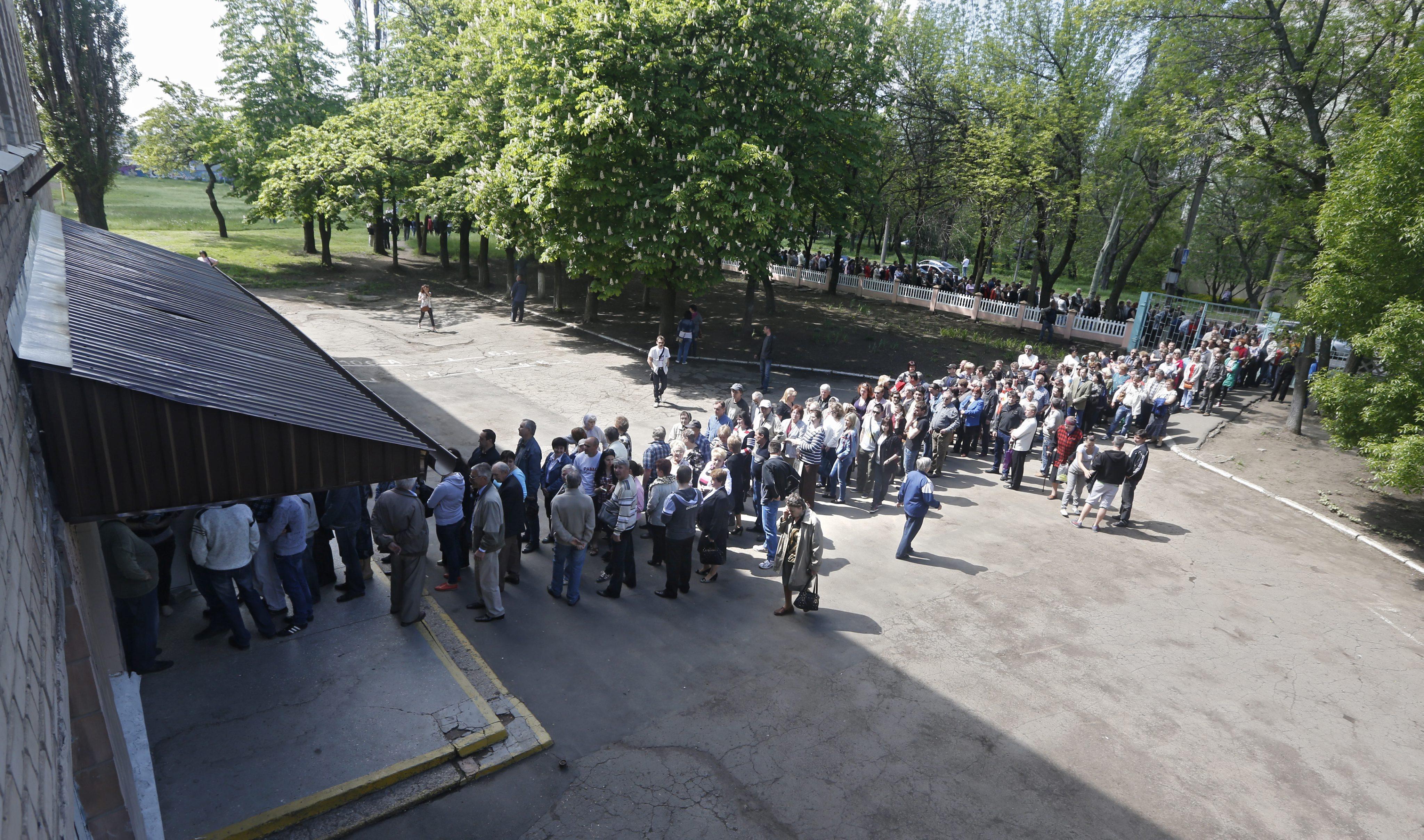 Референдум на юго-востоке Украины о самоопределении