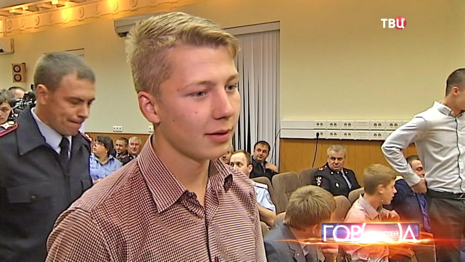 Школьник Владислав Бадаев