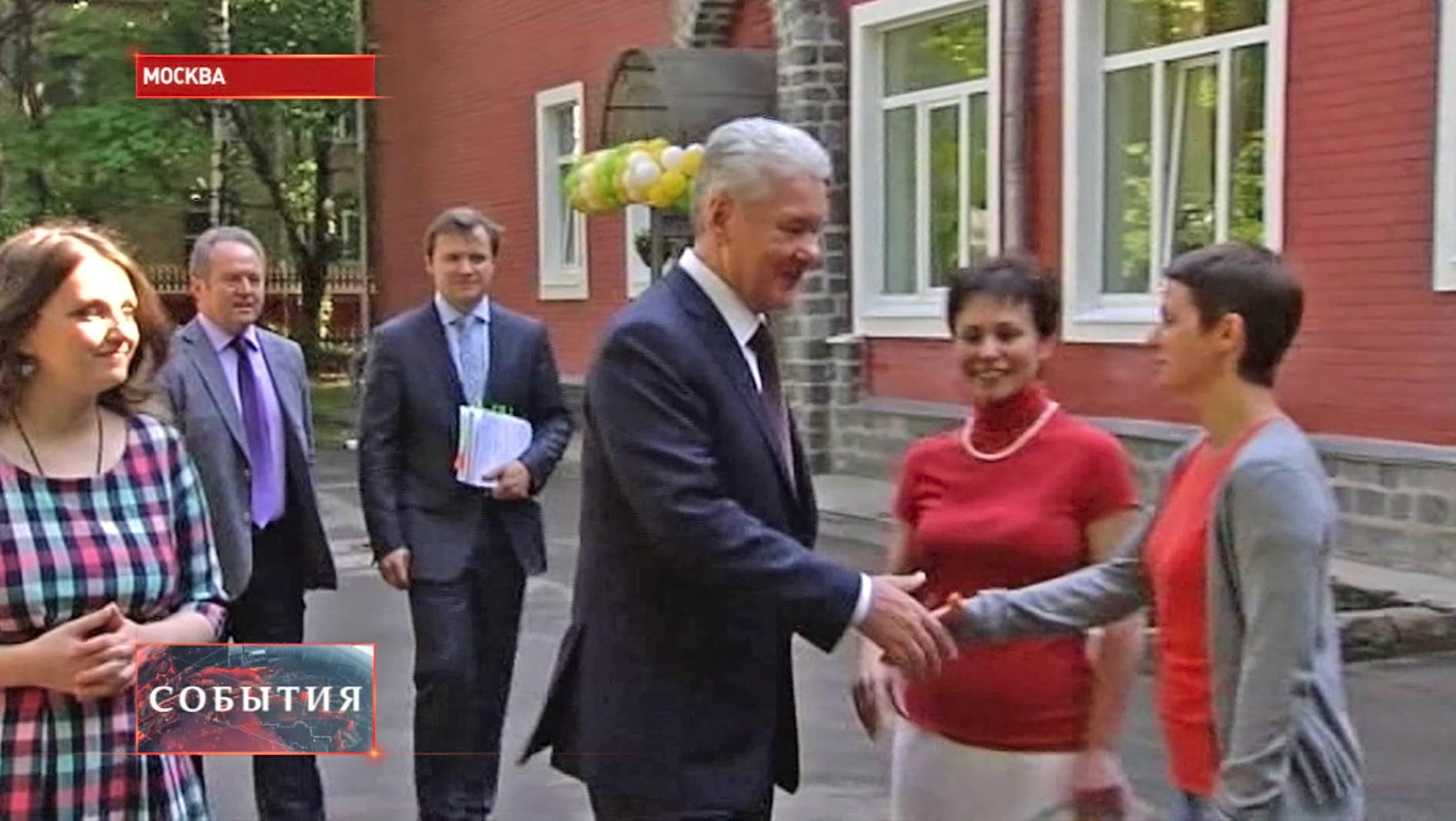 Сергей Собянин посетил частный детский сад
