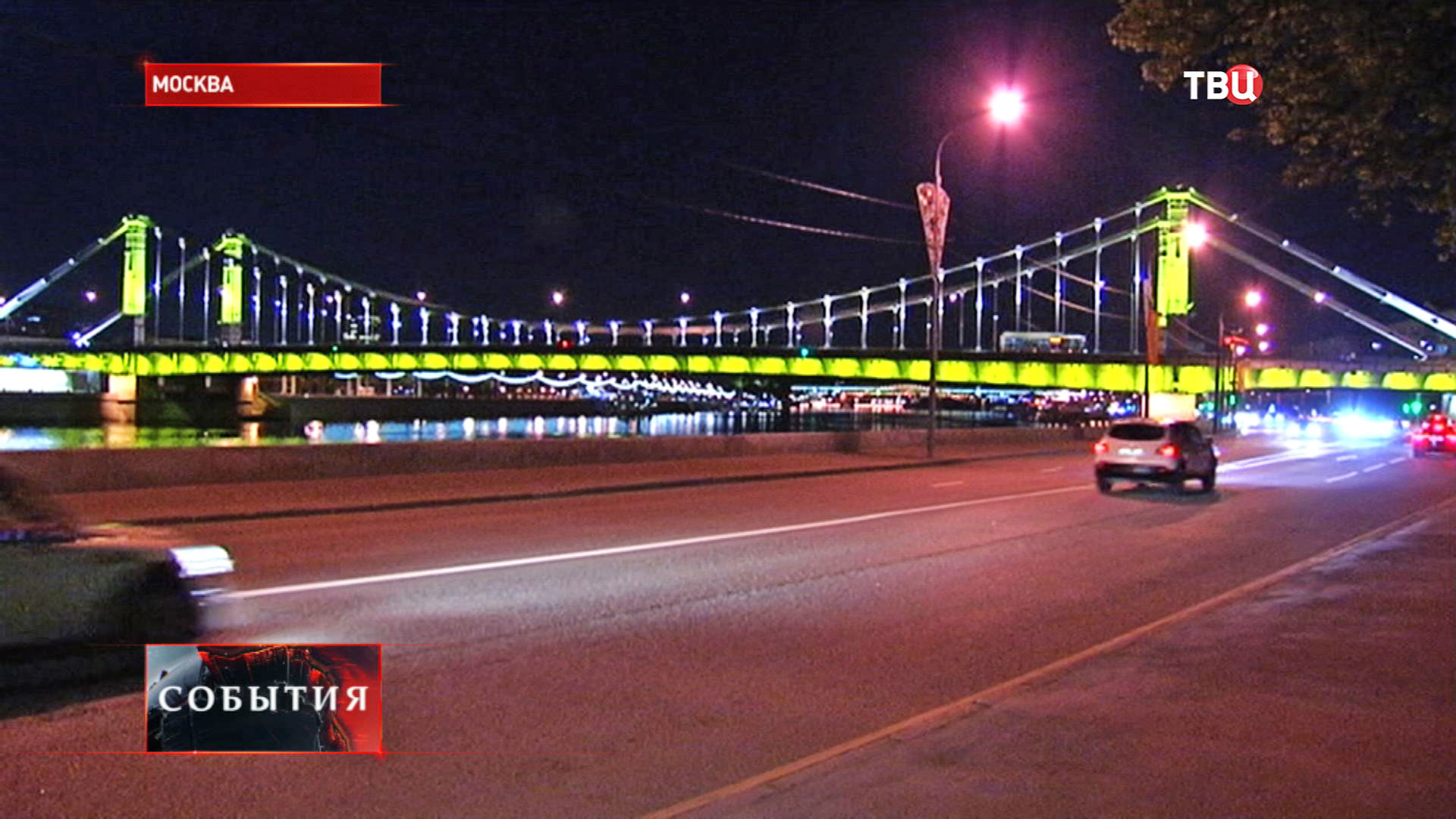Архитектурно-художественная подсветка моста