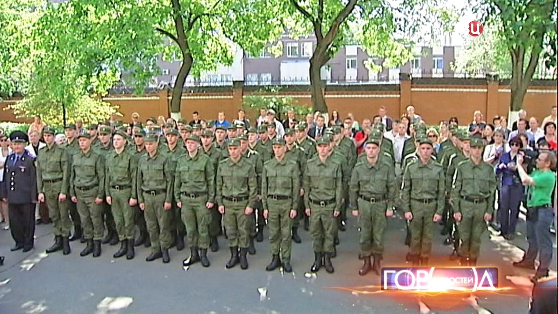 Московские призывники