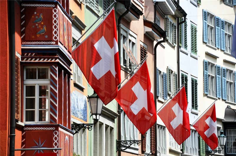 Флаги Швейцарии
