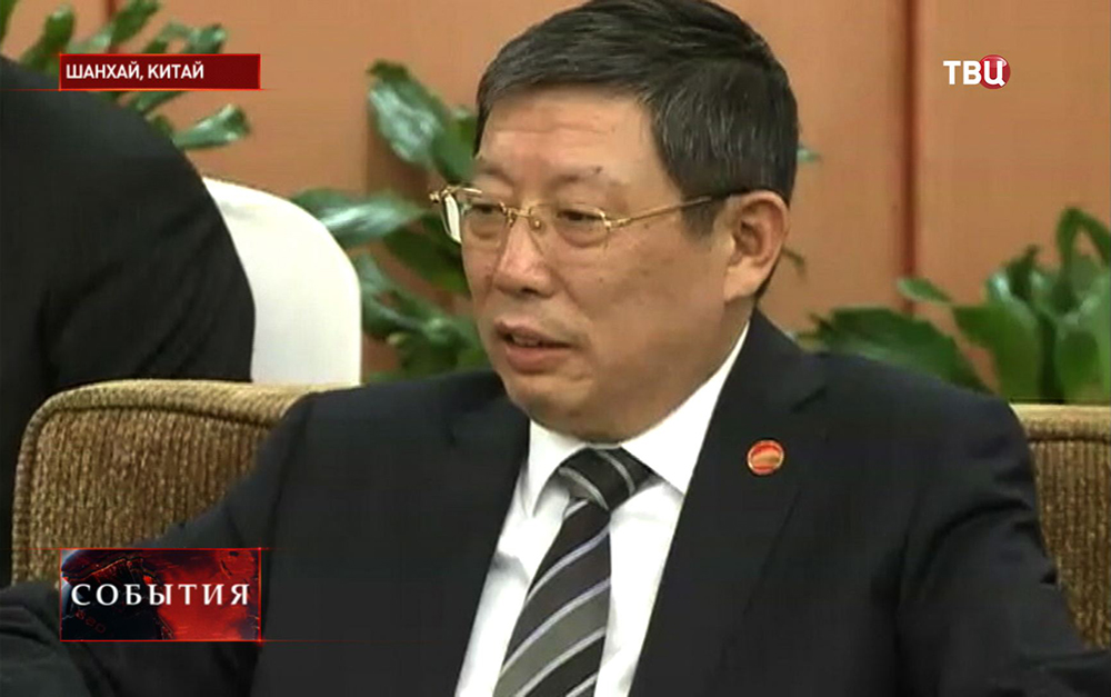 Глава города Шанхай Ян Сюн